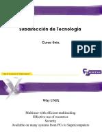 Curso Unix Primer Nivel
