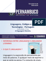 A Linguagem Literária.