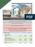 Hitung Biaya Bahan Desain Rumah 7x9 by Idrm