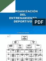 Entrenamiento Organizacion Mer