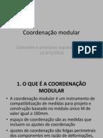 Coordenação modular1