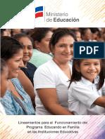 5 Lineamientos Funcionamiento PeF
