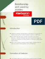 CRM Used in Karbonn