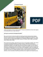 Como Poner Un Negocio de Transporte Escolar - Guía de Negocio