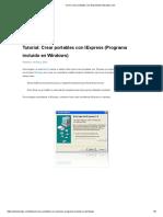 Como Crear Portables Con IExpressEsTutoriales.com