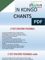 Eden Kongo Songs