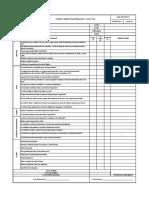 Formato Inspeccion Orden, Aseo y Locativo