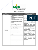 Ana Matriz Lingua Portuguesa Leitura e Escrita