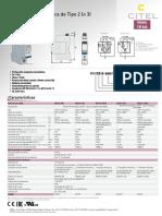 Protección Monofásica de Tipo 2 (o 3) Gama DS215