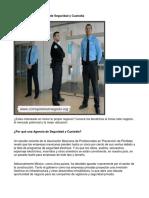Como Poner Una Agencia de Seguridad y Custodia - Guía de Negocio