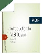 VLSI Lecture01 20190206 Introduction to VLSI Design