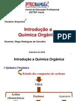 Aula - Introdução a Química Orgânica