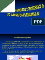 ANALIZA DIAGNOSTIC STRATEGICA la SC CARREFOUR ROMANIA SA