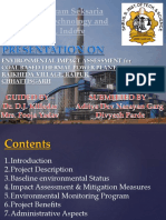 Environmental Impact Assessment for Coal Based Thermal Power