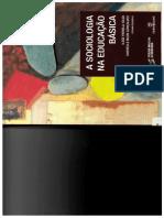 1 -A Sociologia Na Educação Básica - Processo de Institucionalização Amurabi