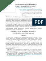 Uma pesquisa socioclínica na França