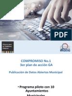 Publicación de Datos Abiertos Municipal