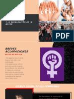 Feminismo y La Degradación de La Mujer Presentacion