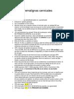 Transcrito Lesiones Premalignas Cervicales