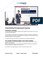 Understanding Principle-Based Coaching Session Notes