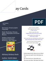 finger play cards