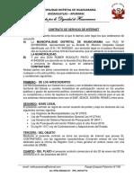 Contrato de Huancarama 2019