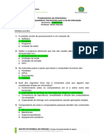 Fundamentos Da Informática Aula 01 - Computadores_ Ferramentas Para a Era Da Informação Exercícios - RESPOSTAS Professor_ Danilo Giacobo (1)