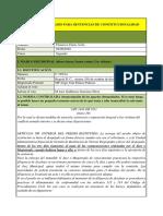 C FORMATO Analisis Jurisprudencial 1