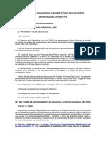 Ley Del Fondo de Aseguramiento en Salud de La Policía Nacional Del Perú