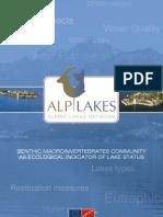 Alplakes Ecological Indicator of Lake Status