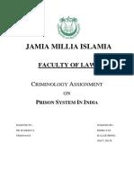 Prison System in India