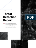 Threat Detection Report