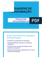 Aula03 LP-Paradigmas Programao Imperativa