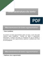 Macroestrutura Do Texto