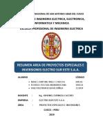 Resumen-Oficina de Proyectos Especiales