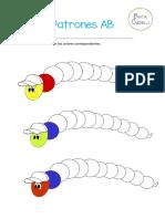 Patrones AB Colores y Figuras