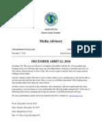 press release and media advisory