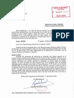 Resolució de la JEC sobre la participació de Jordi Sànchez en roda de premsa