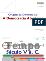 A Origem Da Democracia Ateniense