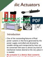 Lec-4 Hydraulic Actuators