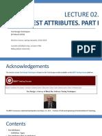 Lecture02 TestAttributes I