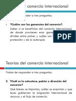Teorias Del Comercio Presentaciones.