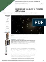 Científicos Plantean Una Explicación Para La Materia y La Energía Oscura - Ciencia - Vida - ELTIEMPO.com