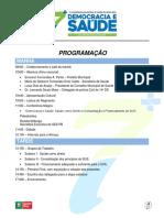 7ª CMS - Programação