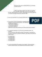 Direccionamiento IP y VLSM