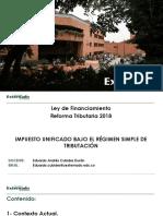 06. Eduardo Cubides. Régimen Simple