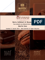Barry Callebaut Et Bevanar. Martin Diez