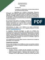 Planeación Estrategica, Foros de Planeación Didáctica2018