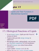 Chapter 17 Powerpoint l Lipids