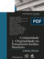 Livro Joao Mauricio Adeodato